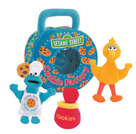 Cookie Monster Playset - 7'' Sesame Street by Gund