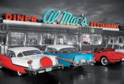 Educa Jigsaw Puzzles - Dinner at Al Mac's