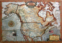 Educa Jigsaw Puzzles - North America Map
