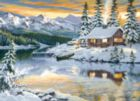 Cabin on the River - 1500pc Jigsaw Puzzle By Clementoni