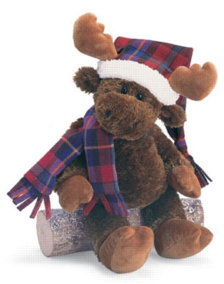 Holiday Mooky - 14.5'' Moose by Gund