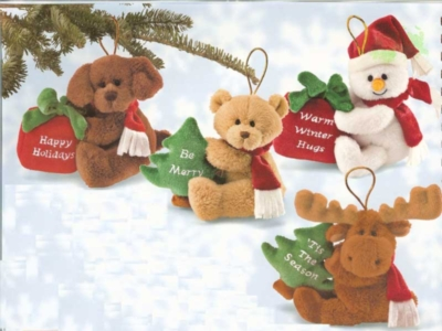 Happy Hangers - 4'' Ornaments by Gund