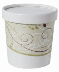 Solo Food Container w/ Lid 12oz KHB12A-16385 250cs