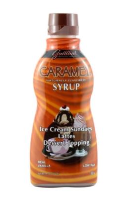 Guittard Sauce: Caramel - 10 fl. oz Squeeze Bottle