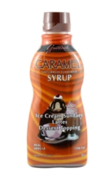 Guittard Sauce: Caramel - 10fl oz Squeeze Bottle Case