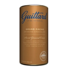 Guittard Cocoa: Grand Cacao Drinking Chocolate - 10oz Can Case