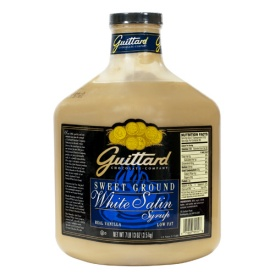 Guittard Sauce: White Chocolate - 90oz Jug