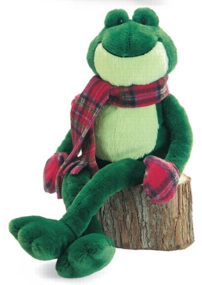 Holiday Nickels - 14'' Frog by Gund