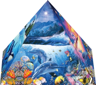 3D Puzzles - Wonders of the Universe Pyramid