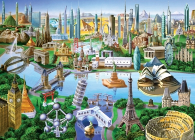 Jigsaw Puzzles - Landmarks of the World