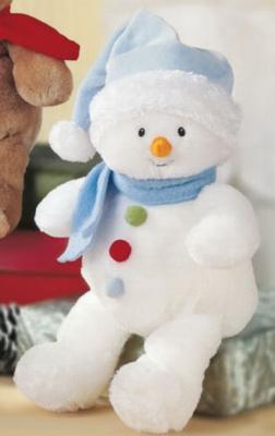 Gumdrop Snowman - 10'' Snowman by Baby Gund