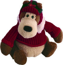 "Goober Ornament - 5"" Bear by Gund"
