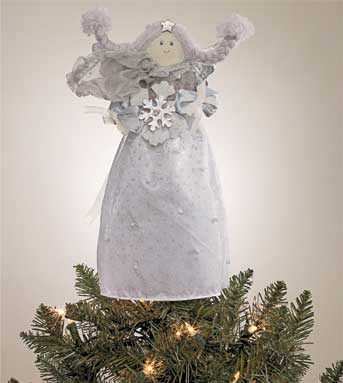 Tiny Blessings Tree Topper - 12'' Angel by Gund