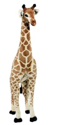 """Giraffe - 55"""" Tall, Standing Plush Giraffe by Melissa & Doug"""