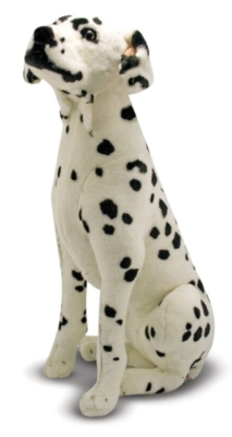 "Dalmatian - 32"" Tall, Sitting Plush Dog by Melissa & Doug"