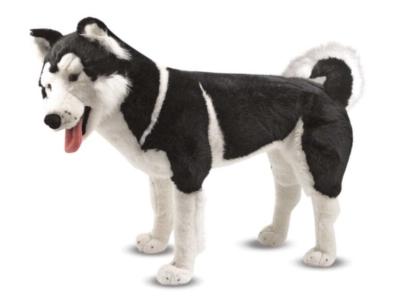 """Husky - 24"""" Tall, Standing Plush Dog by Melissa & Doug"""