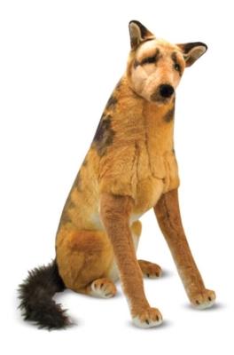 "German Shepherd - 32"" Tall, Standing Plush Dog by Melissa & Doug"