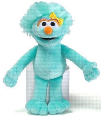 "Rosita Beanbag - 7"" Sesame Street By Gund"