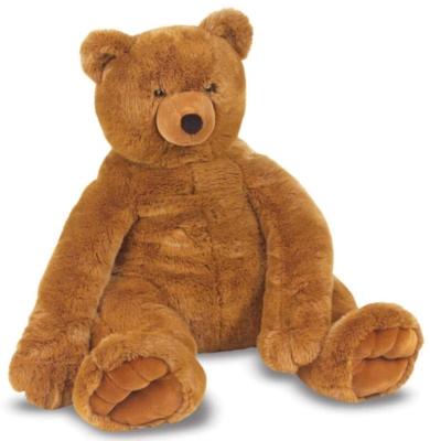 "Jumbo Brown Teddy Bear - 30"" High, Sitting Plush Bear by Melissa & Doug"