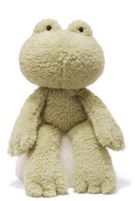 "Fuzzy Frog - 13.5"" Frog By Gund"
