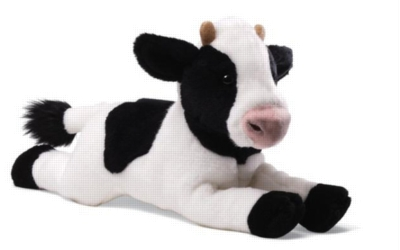 "Cow - 11"" Cow By Gund"