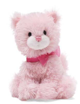 "Chic Pink Cat - 5"" Cat By Gund"