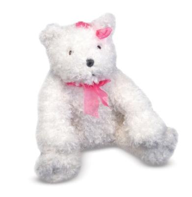 Cuddly White Bear - 14'' Bear by Melissa & Doug
