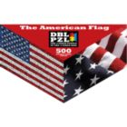The American Flag - 500pc Double-Sided Jigsaw Puzzle by Pigment & Hue