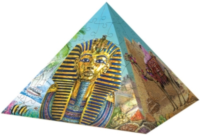 Essence of Egypt - 216pc Puzzle Pyramid By Ravensburger