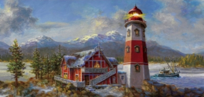 Jigsaw Puzzles - Lighthouse Bluff