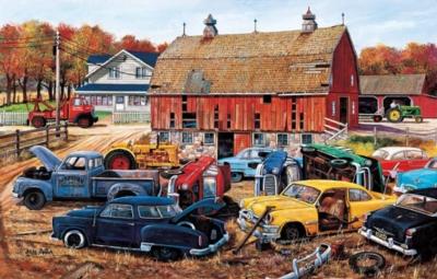 Jigsaw Puzzles - Barnyard Gems