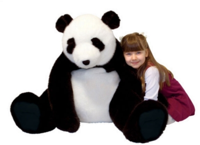 "Panda - 20"" High, Sitting Plush Marsupial by Melissa & Doug"