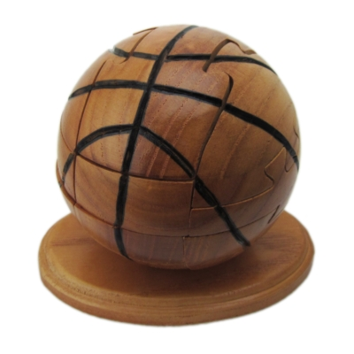 Wooden Assembly Puzzles - Basketball