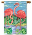 Flamingo Pair - Standard Flag by Magnet Works