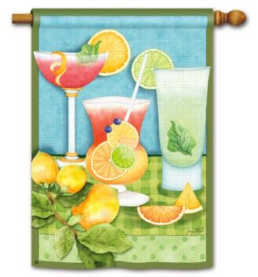 Summer Cocktails - Standard Flag by Magnet Works