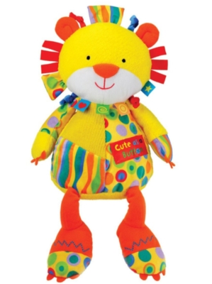 "Cute as a Button - 12"" Lion By Kids Preferred"