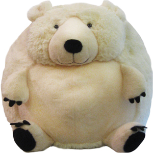 "Polar Bear - 15"" Squishable"