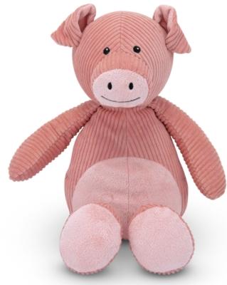 "Corduroy Cutie Pig - 14"" Pig By Melissa & Doug"