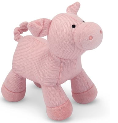 "Sweater Sweetie Pig - 11"" Pig By Melissa & Doug"