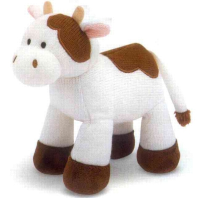 """Sweater Sweetie Cow - 11"""" Cow By Melissa & Doug"""