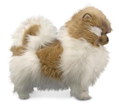 Pomeranian - 16'' Dog By Melissa & Doug