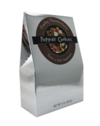 Poppie's Cookies - 3oz Silver Box - Cowboy Thundercluster