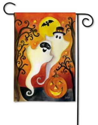 Halloween Ghosts - Garden Flag by Magnet Works