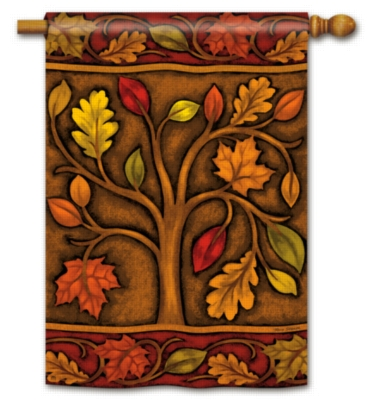 Branches of Autumn - Standard Flag by Magnet Works