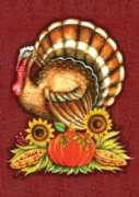 Big Turkey - Garden Flag by Toland