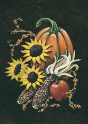 Indian Corn - Garden Flag by Toland