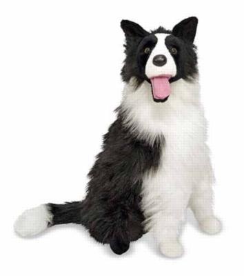 Border Collie - 28'' Head to Tail, Plush Dog by Melissa & Doug