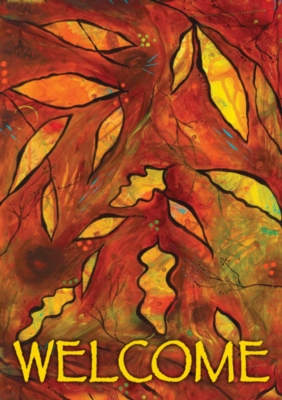 Autumn Alchemy - Garden Flag by Toland