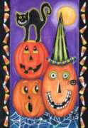 Pumpkin Party - Garden Flag by Toland