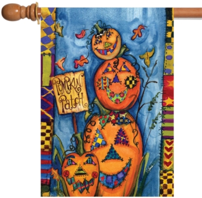 Pumpkin Patch - Standard Flag by Toland